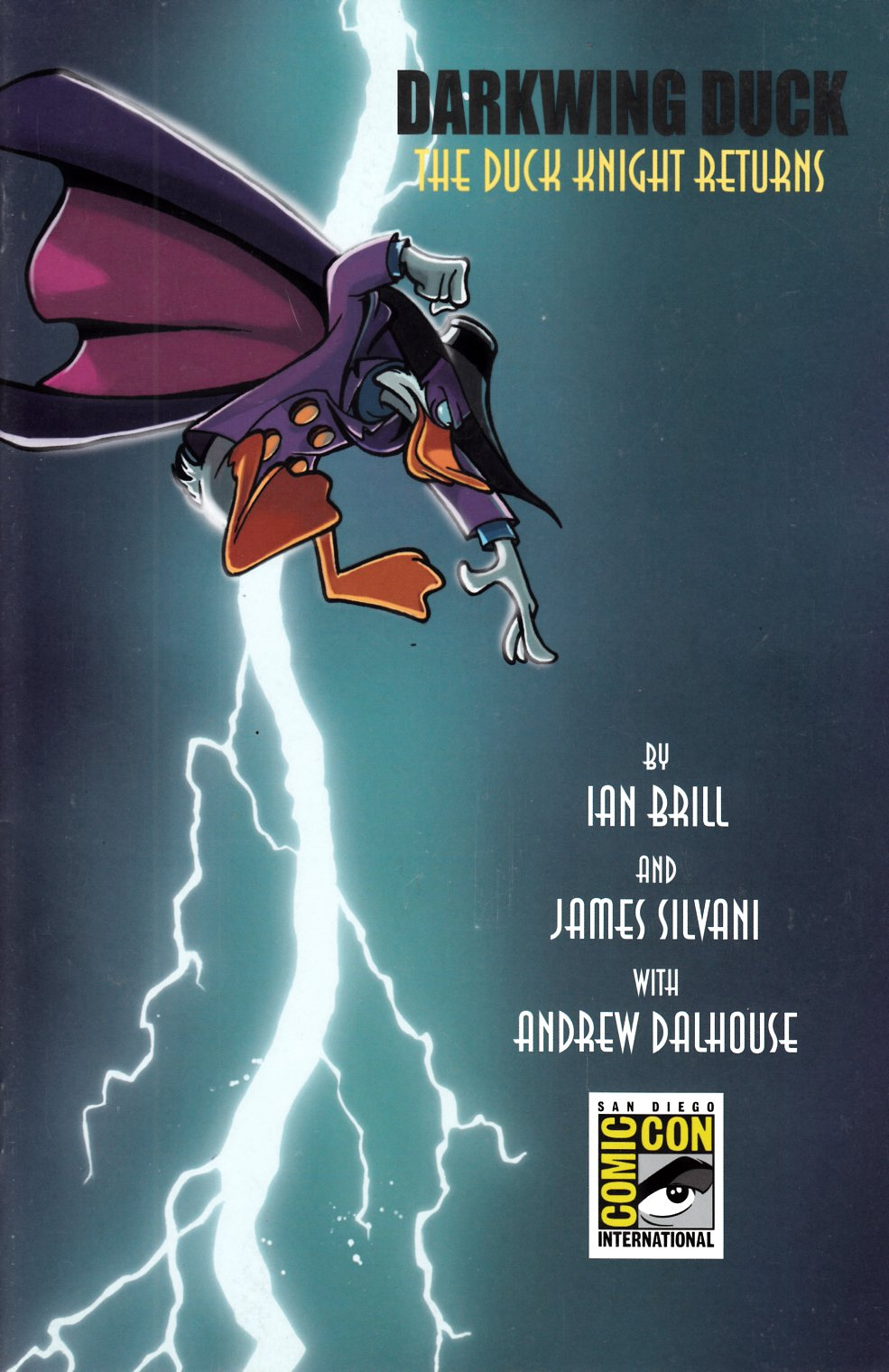 Darkwing Duck #1 SDCC Exclusive Variant Cover- Near Mint (9.4) [Boom Comic]_THUMBNAIL