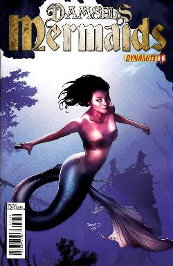 Damsels Mermaids #1 Cover A- Renaud [Comic] LARGE