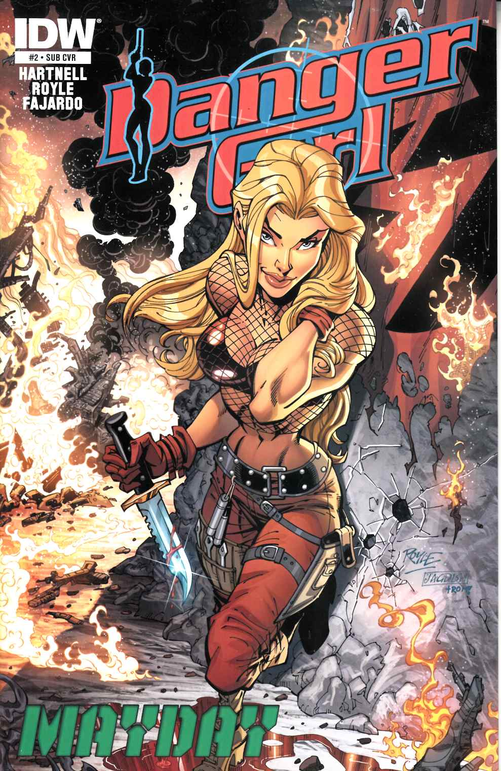 Danger Girl Mayday #2 Subscription Cover [Comic] LARGE