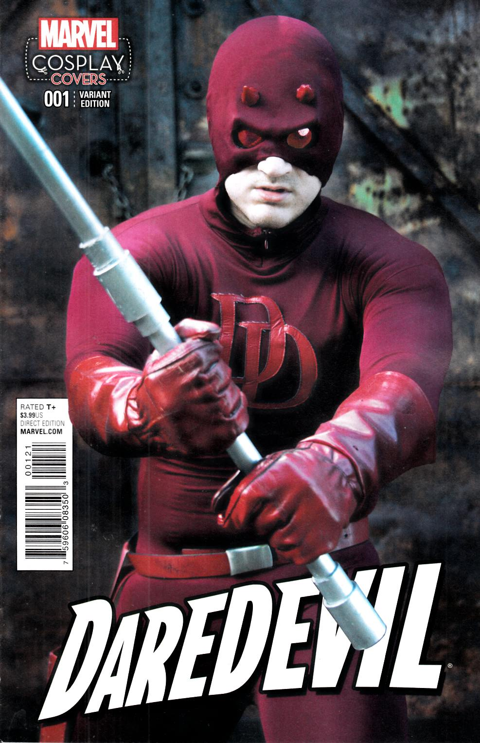 Daredevil #1 Cosplay Variant Cover [Marvel Comic] LARGE
