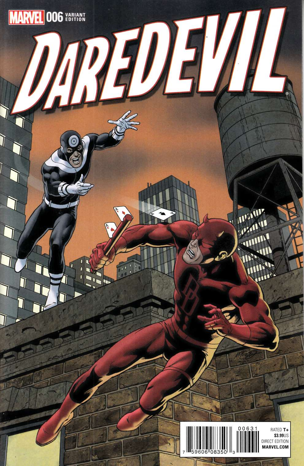 Daredevil #6 Classic Variant Cover [Marvel Comic] LARGE