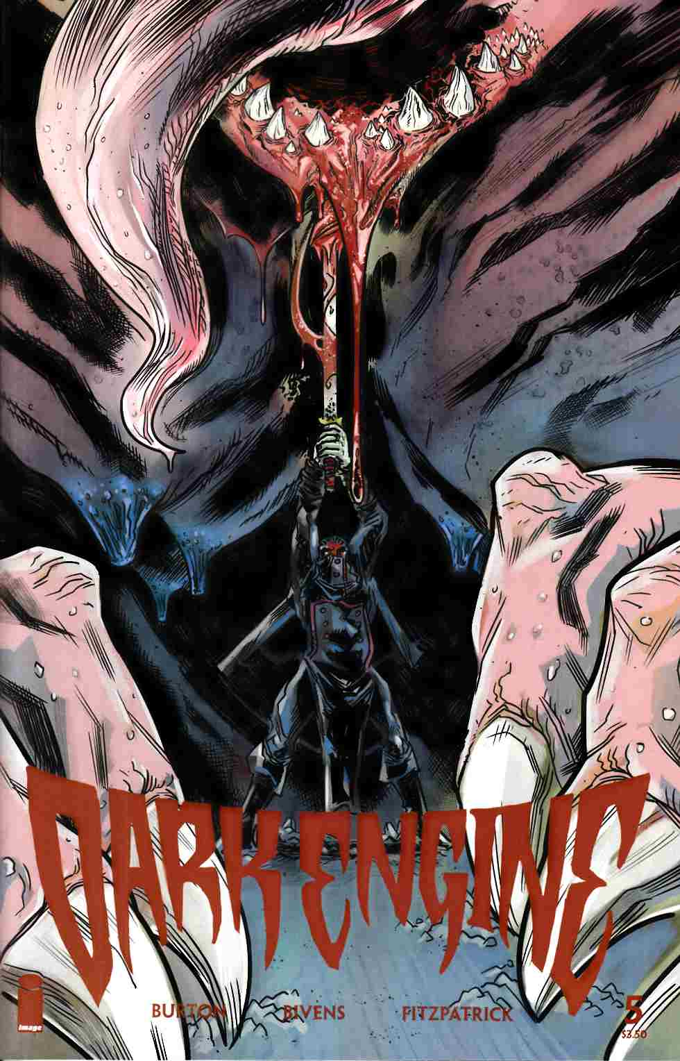 Dark Engine #5 [Image Comic] LARGE