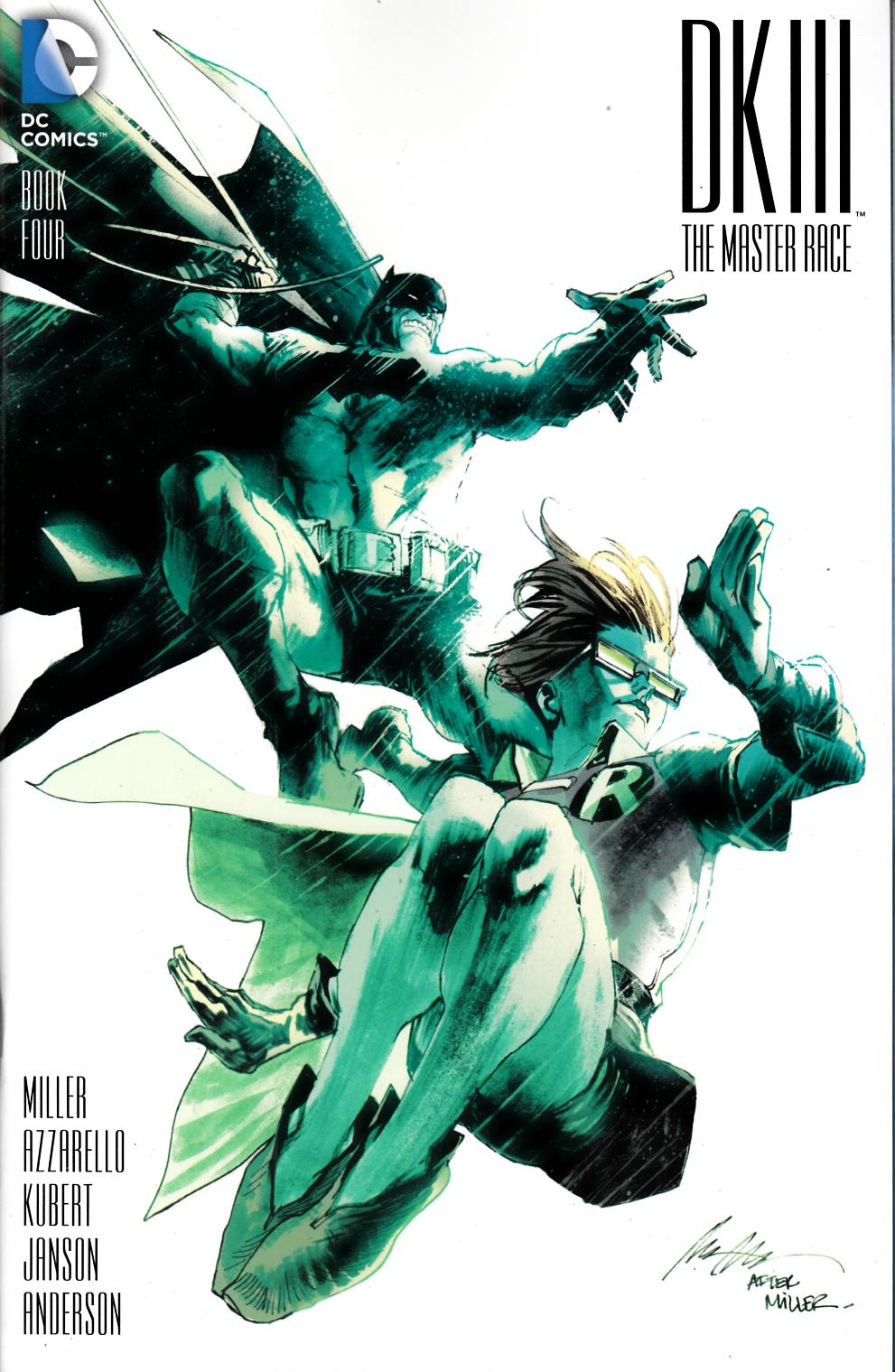 Dark Knight III Master Race #4 Albuquerque Variant Cover [DC Comic] THUMBNAIL