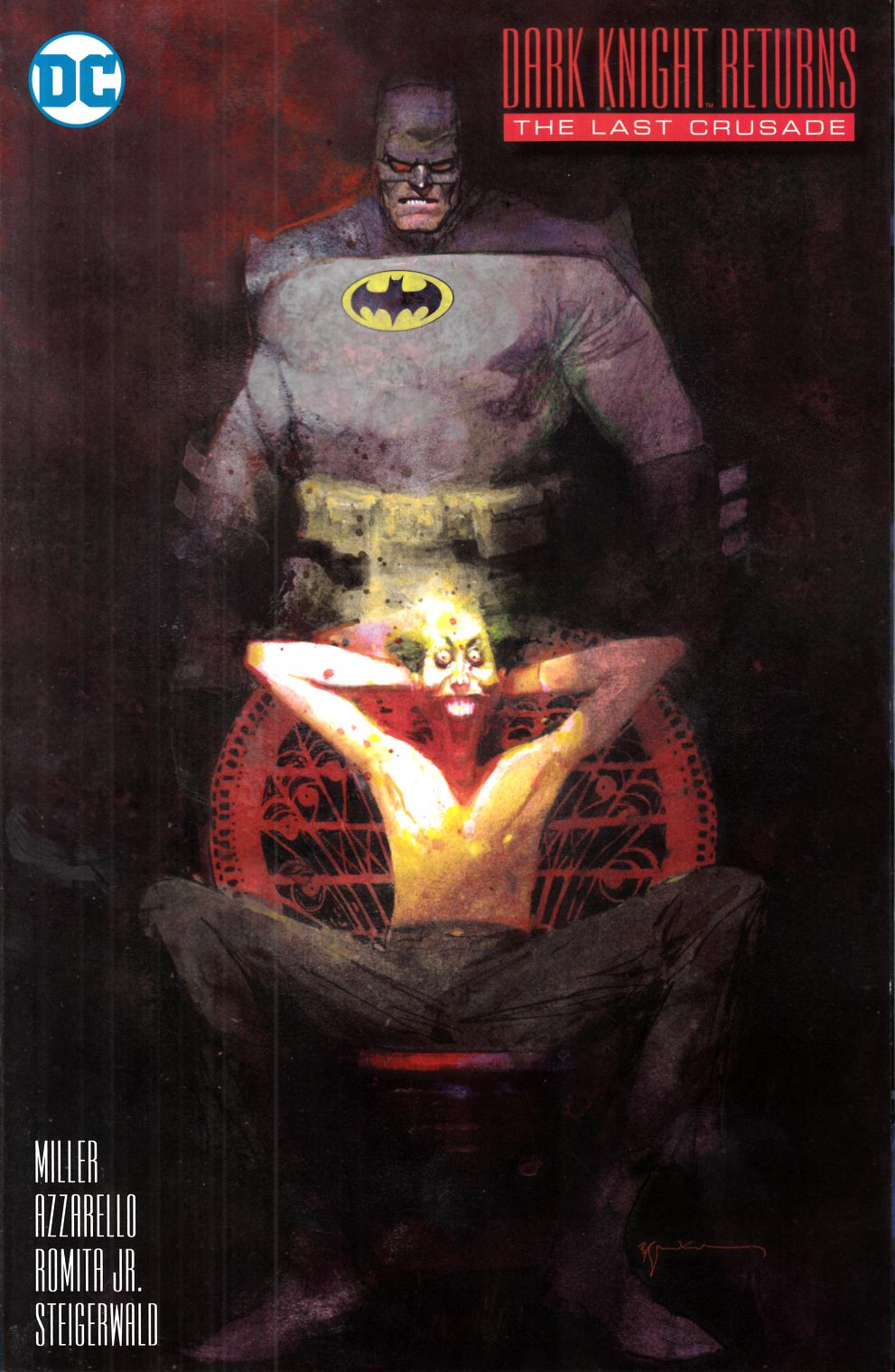 Dark Knight Returns the Last Crusade #1 Sienkiewicz Variant Cover [DC Comic] THUMBNAIL
