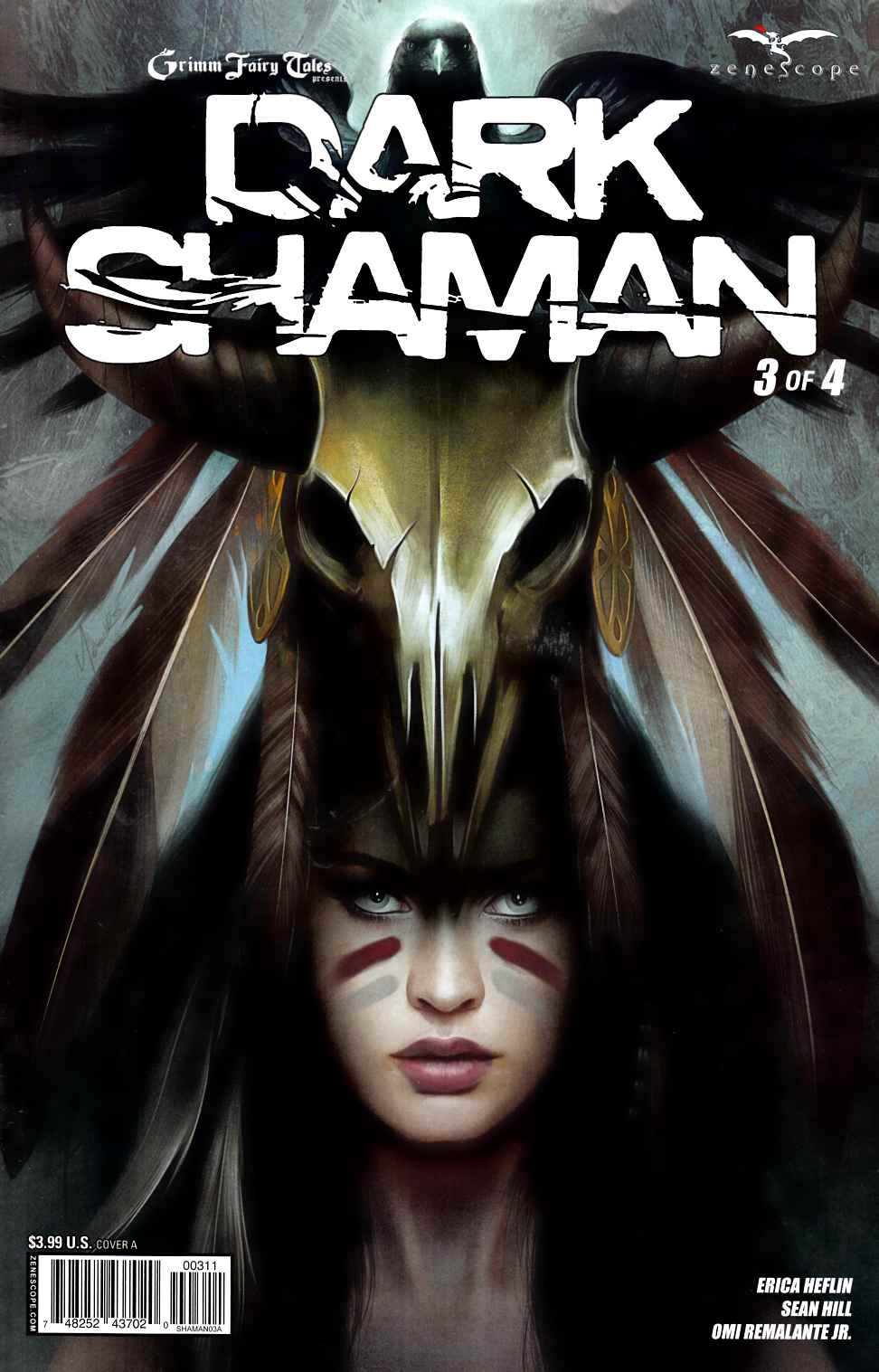 Dark Shaman #3 Cover A- Meguro [Zenescope Comic] LARGE