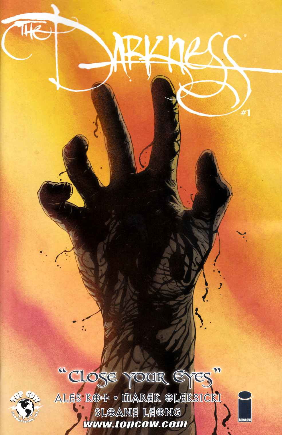 Darkness Close Your Eyes (One Shot) [Top Cow Comic]