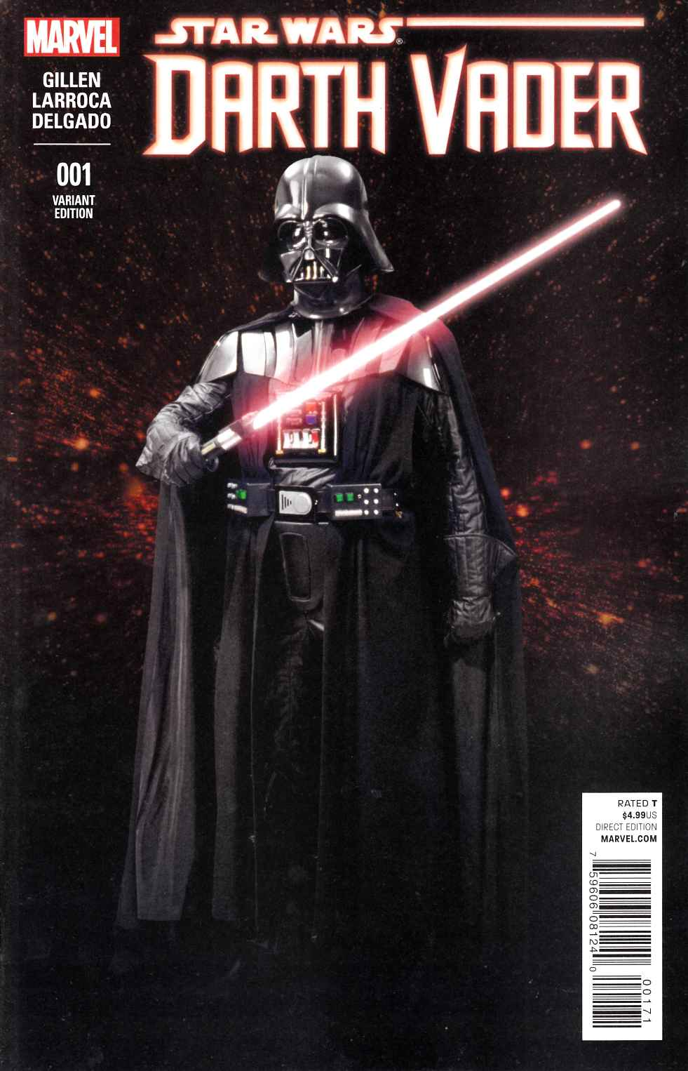 Darth Vader #1 Movie Variant Cover [Marvel Comic] LARGE