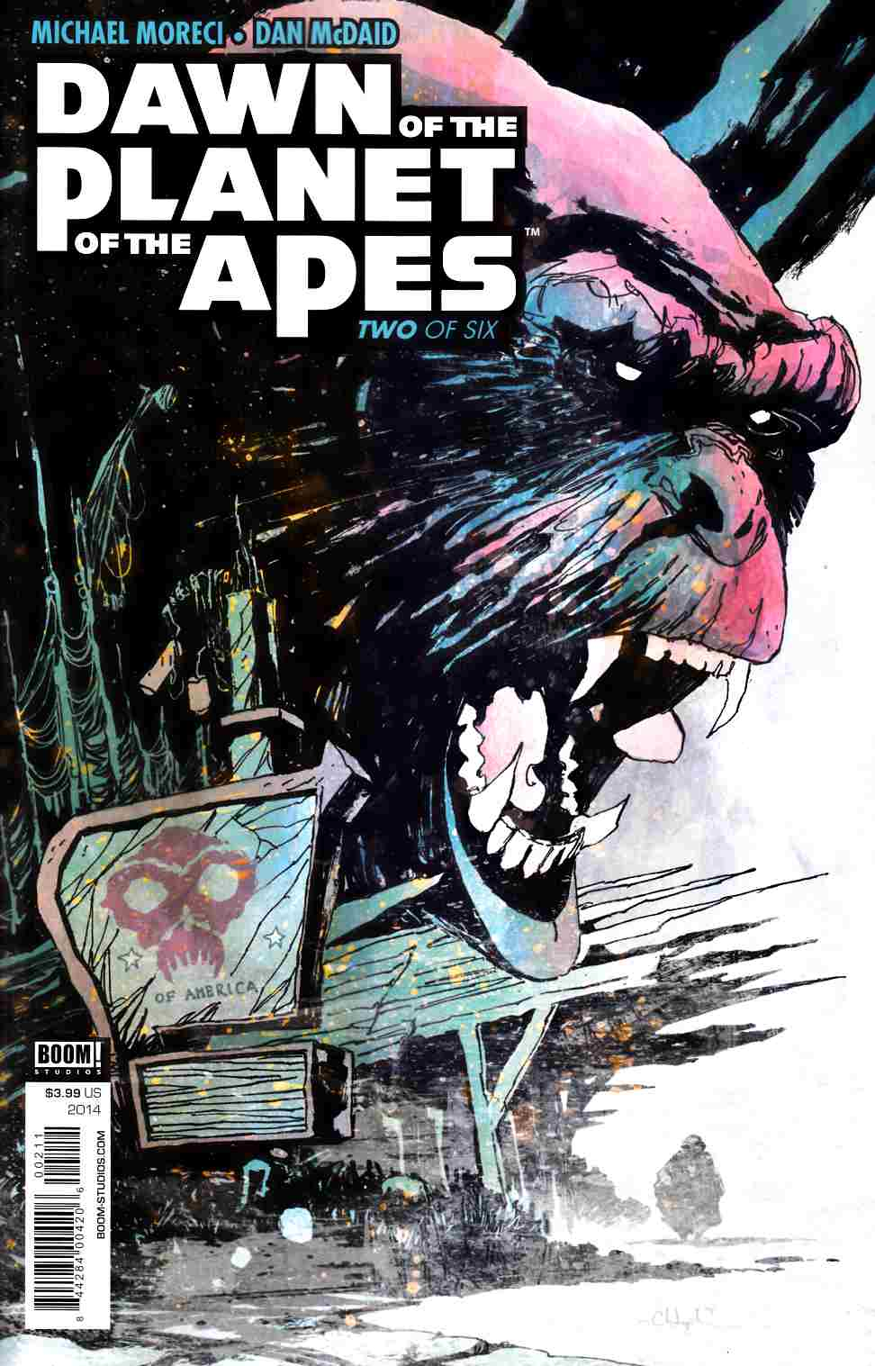 Dawn of Planet of Apes #2 [Boom Comic]