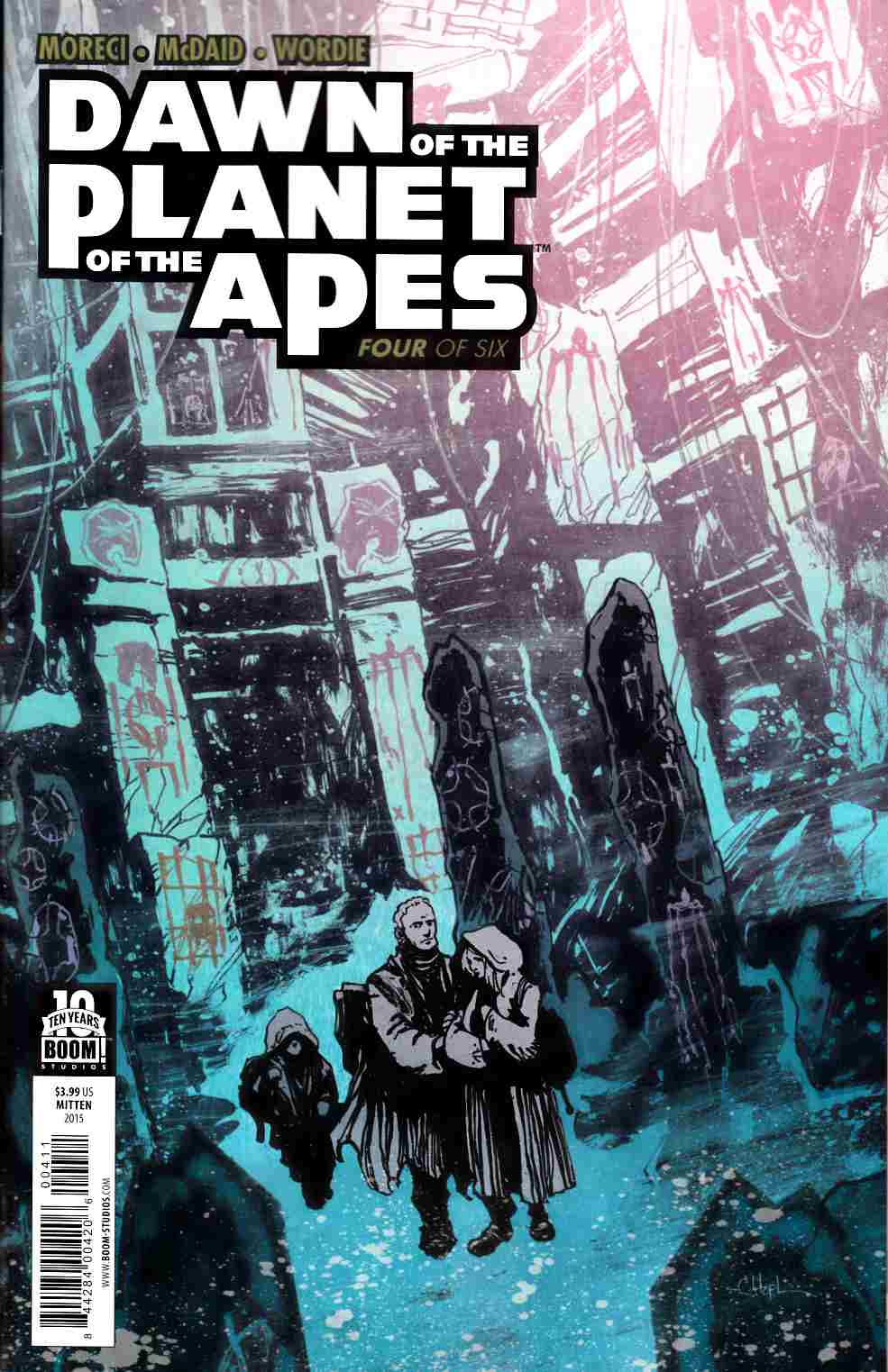 Dawn of Planet of Apes #4 [Boom Comic]