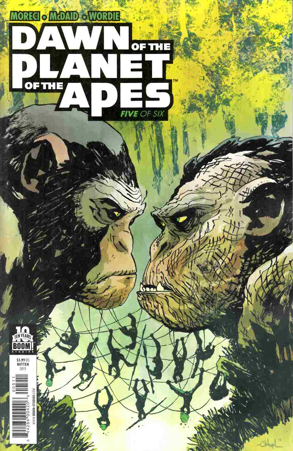 Dawn of Planet of Apes #5 [Boom Comic]