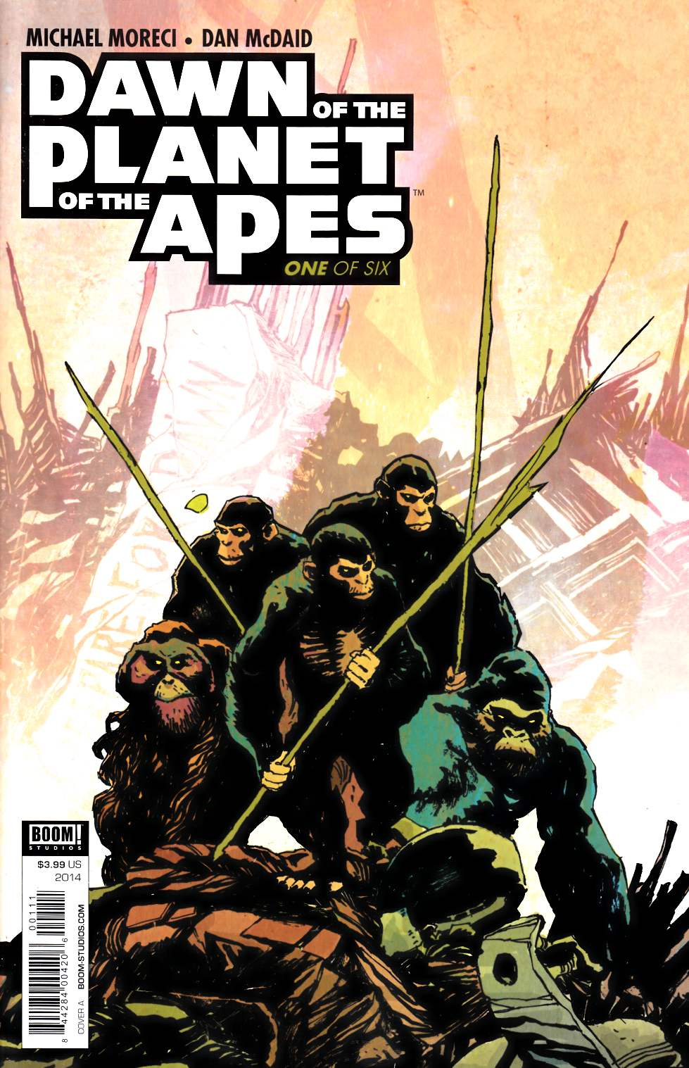 Dawn of Planet of Apes #1 [Boom Comic]