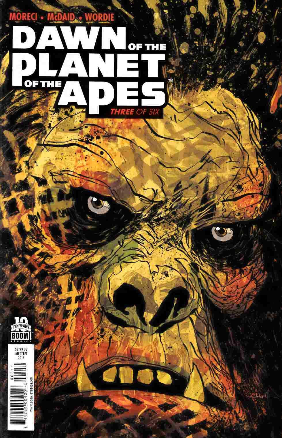Dawn of Planet of Apes #3 [Boom Comic] THUMBNAIL