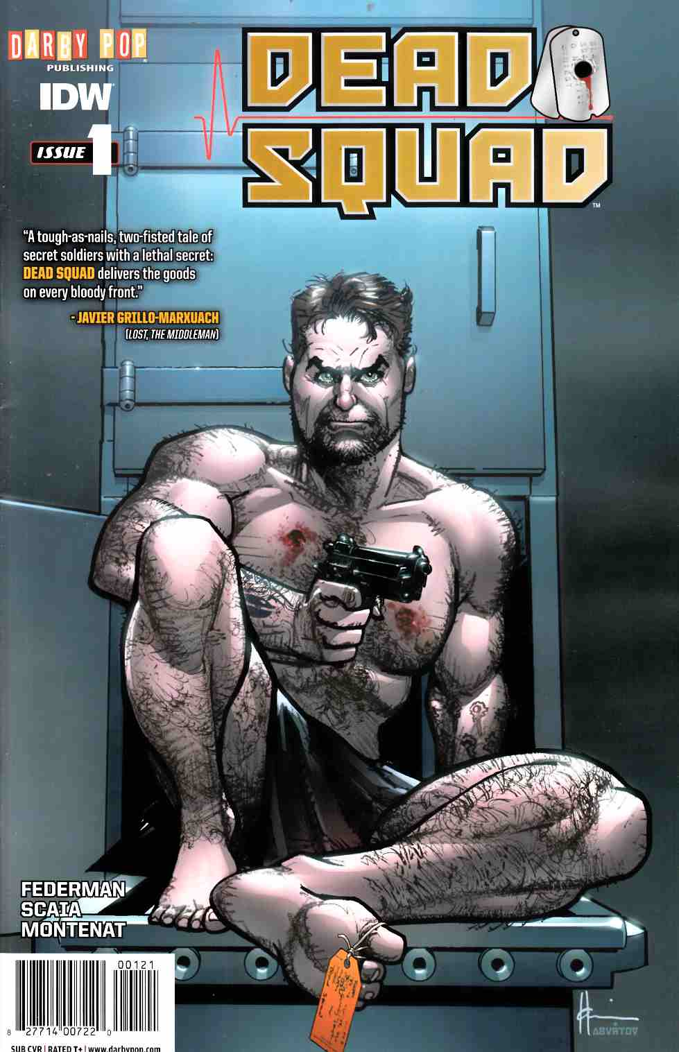 Dead Squad #1 Subscription Cover [IDW Comic] LARGE