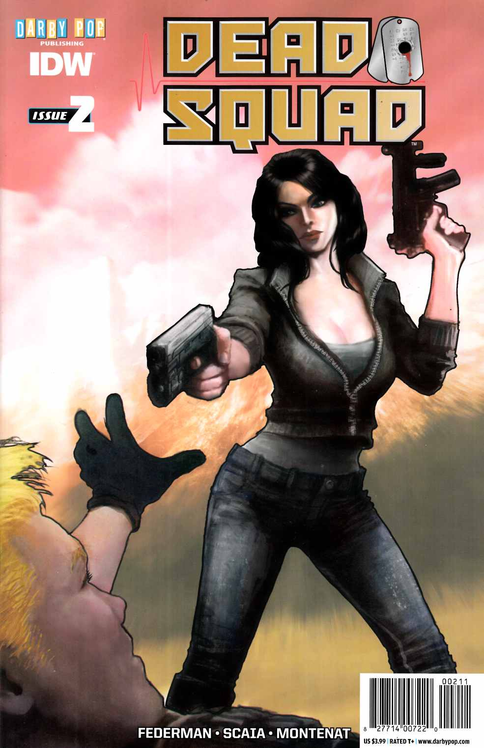 Dead Squad #2 [IDW Comic] LARGE