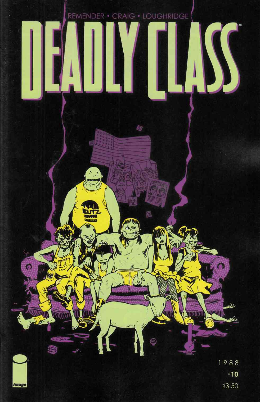 Deadly Class #10 [Image Comic] LARGE