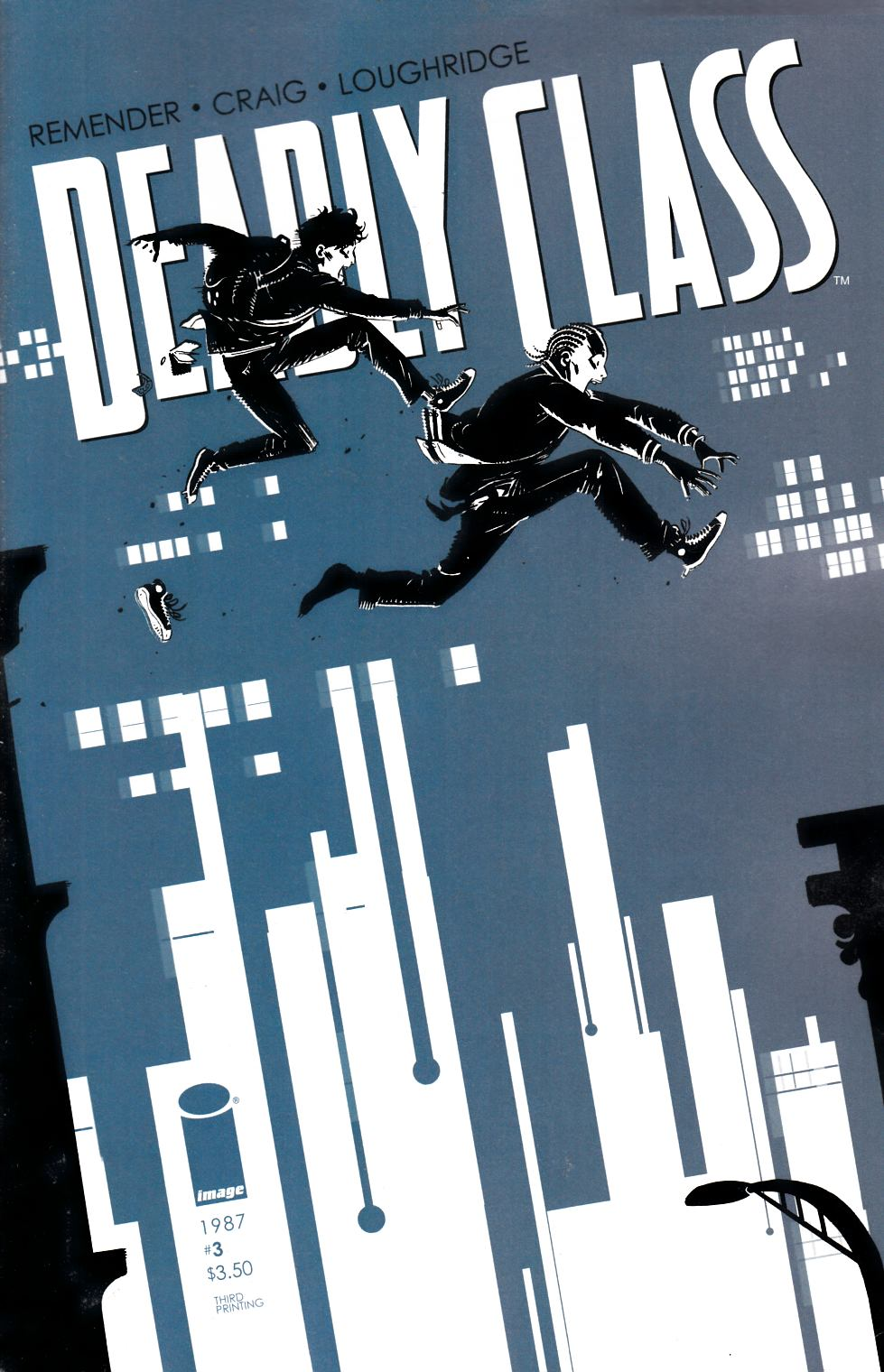 Deadly Class #3 Third Printing Near Mint (9.4) [Image Comic]_LARGE