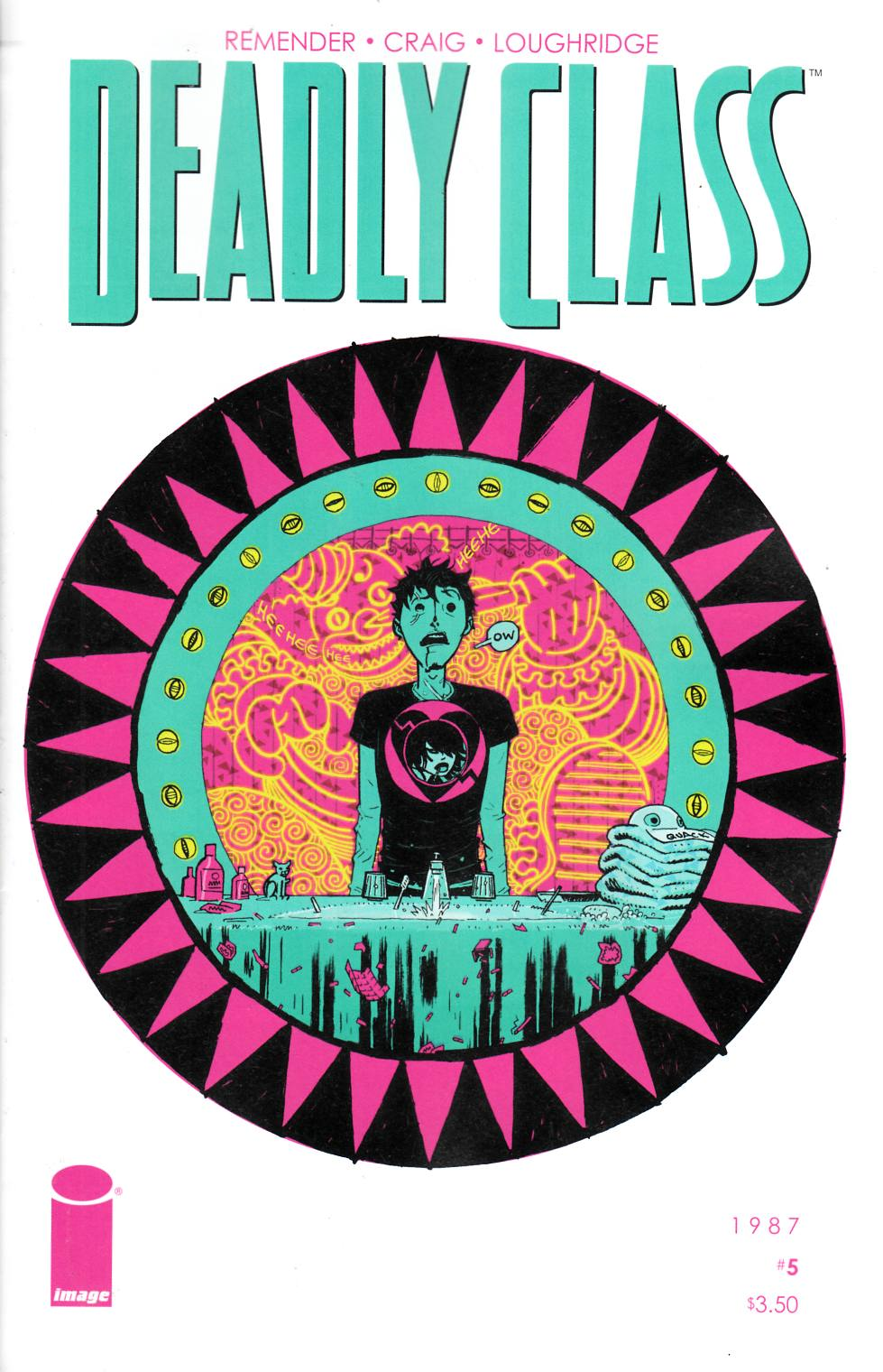 Deadly Class #5 Near Mint (9.4) [Image Comic] LARGE