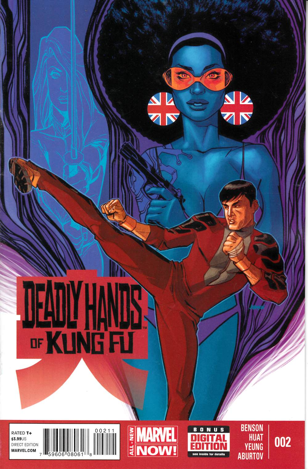 Deadly Hands of Kung Fu #2 [Comic] LARGE