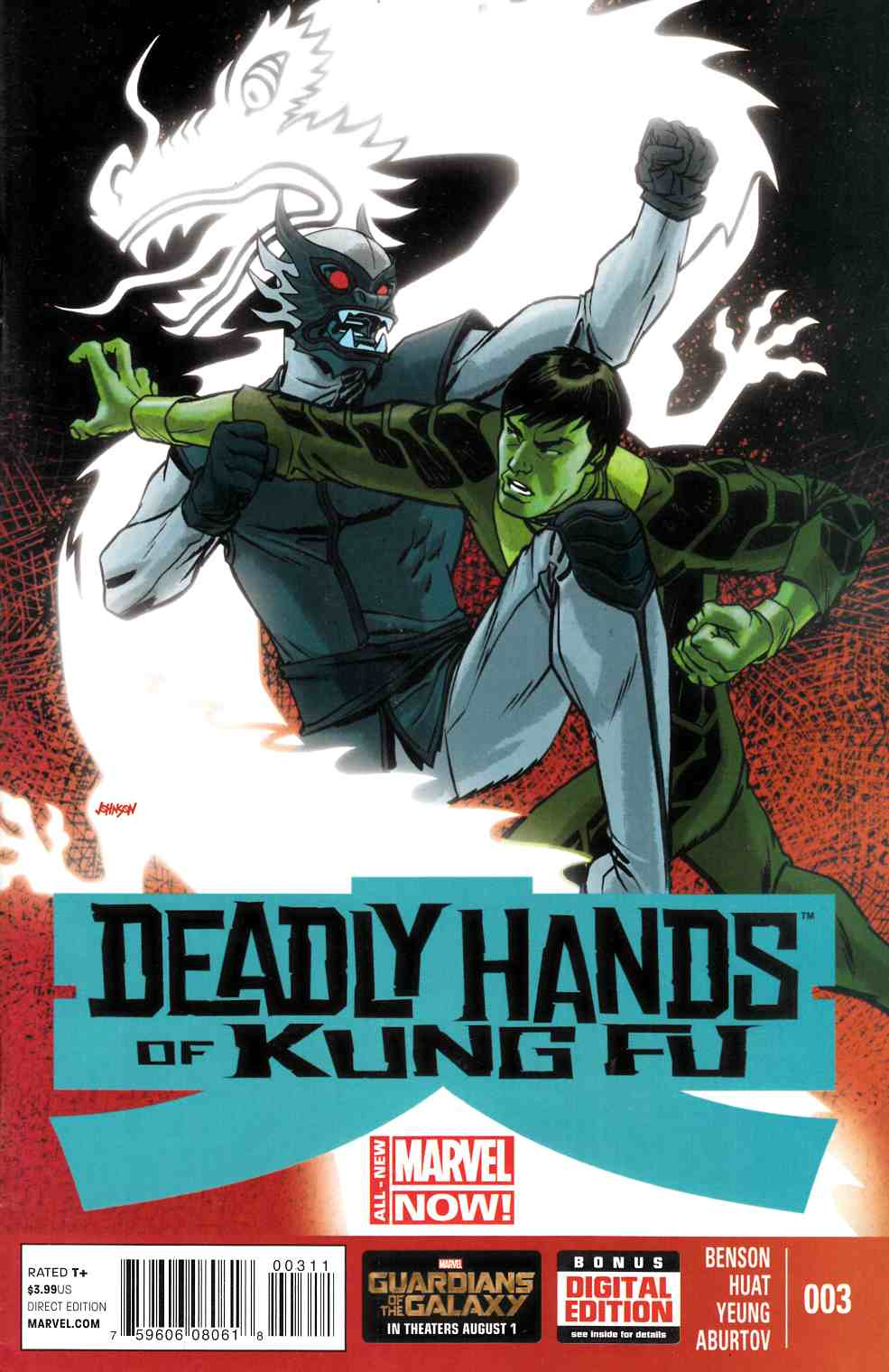 Deadly Hands of Kung Fu #3 [Comic] THUMBNAIL