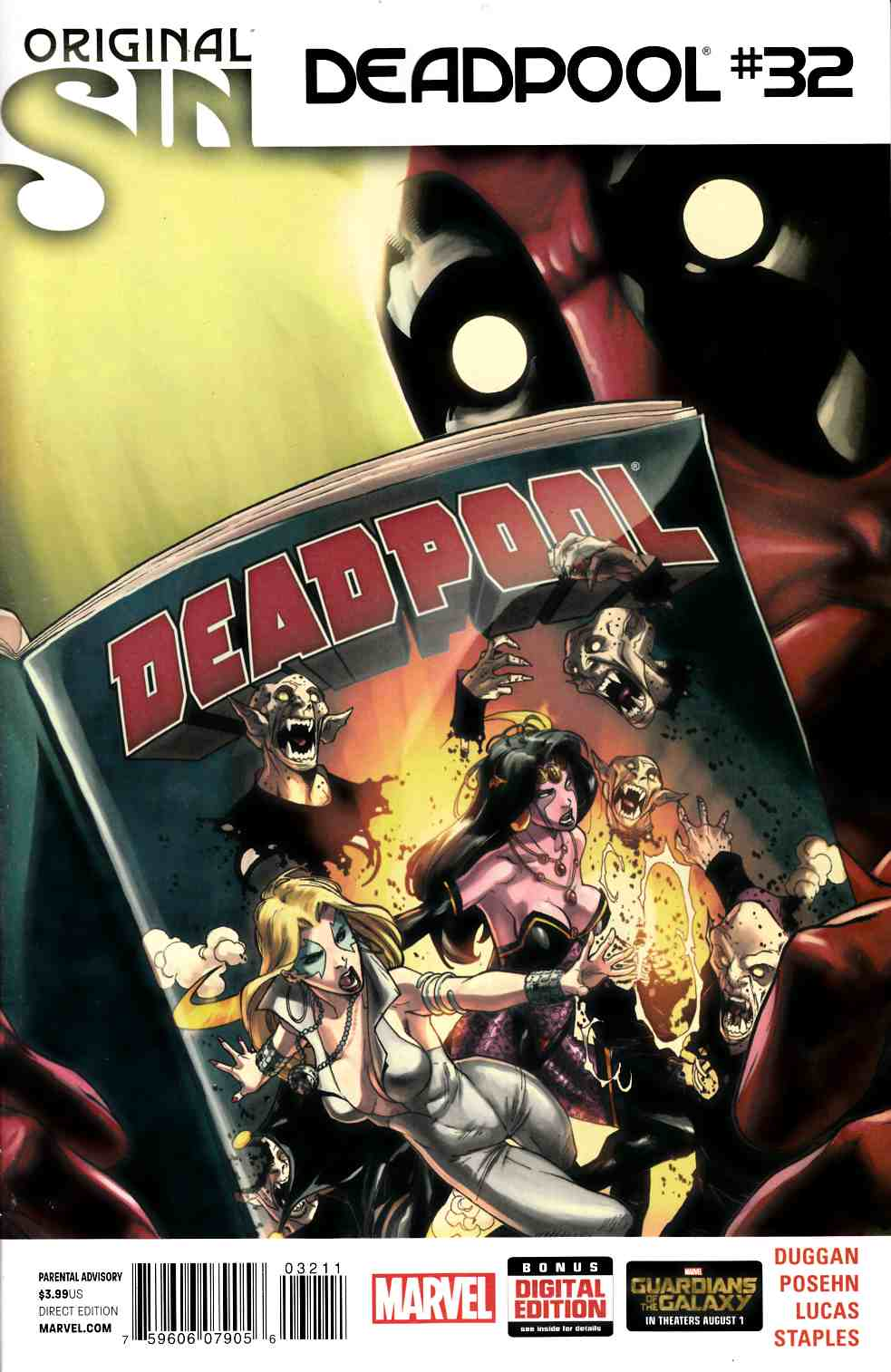 Deadpool #32 [Comic] LARGE