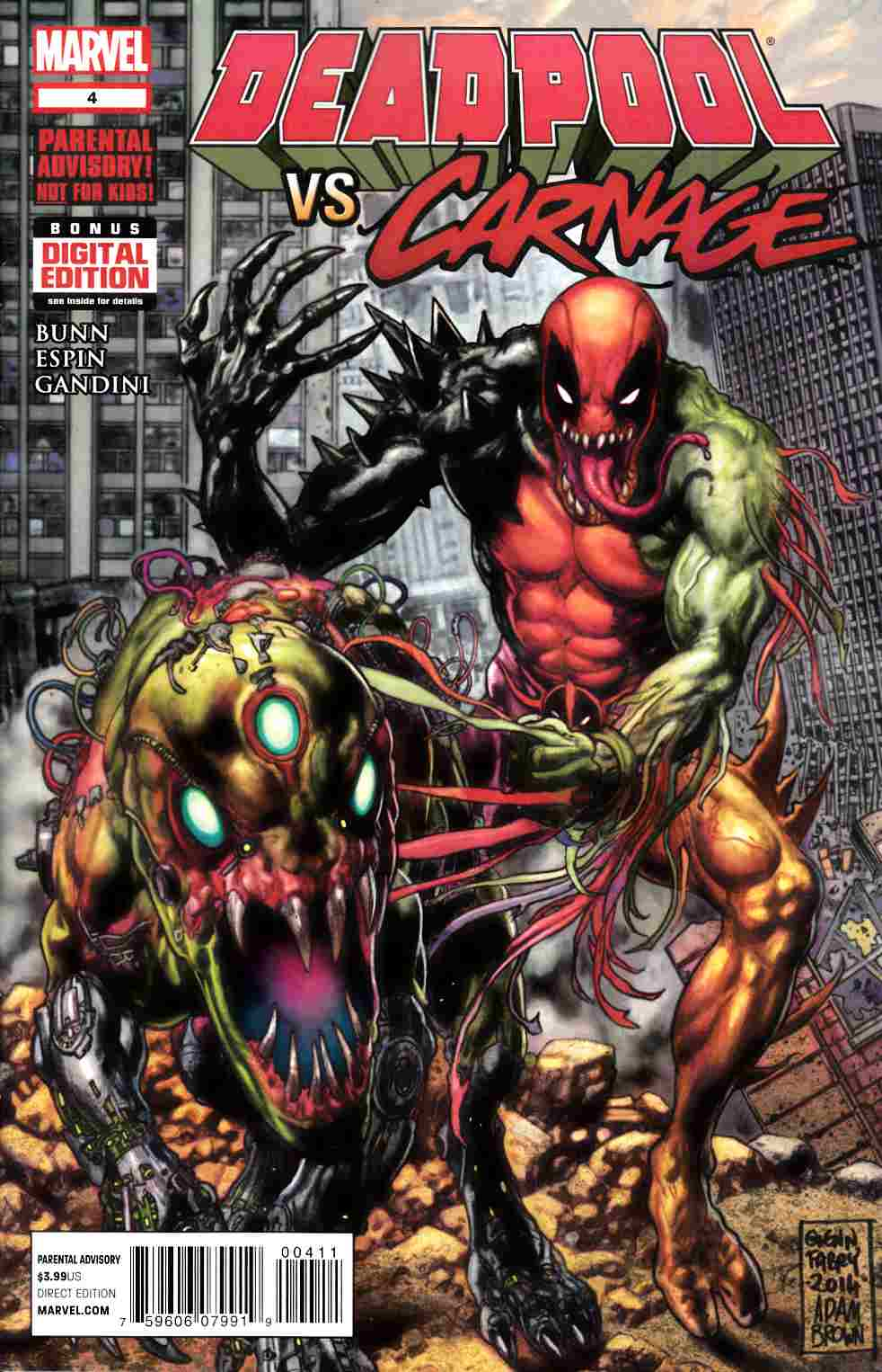 Deadpool vs Carnage #4 [Marvel Comic] THUMBNAIL