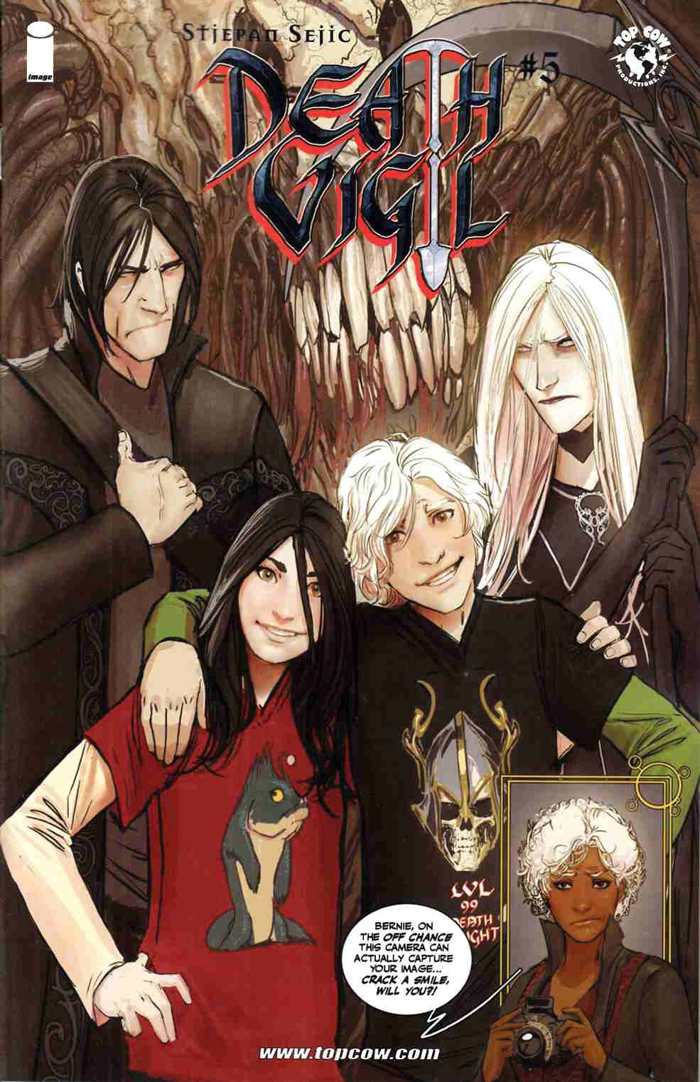 Death Vigil #5 [Image Comic] LARGE
