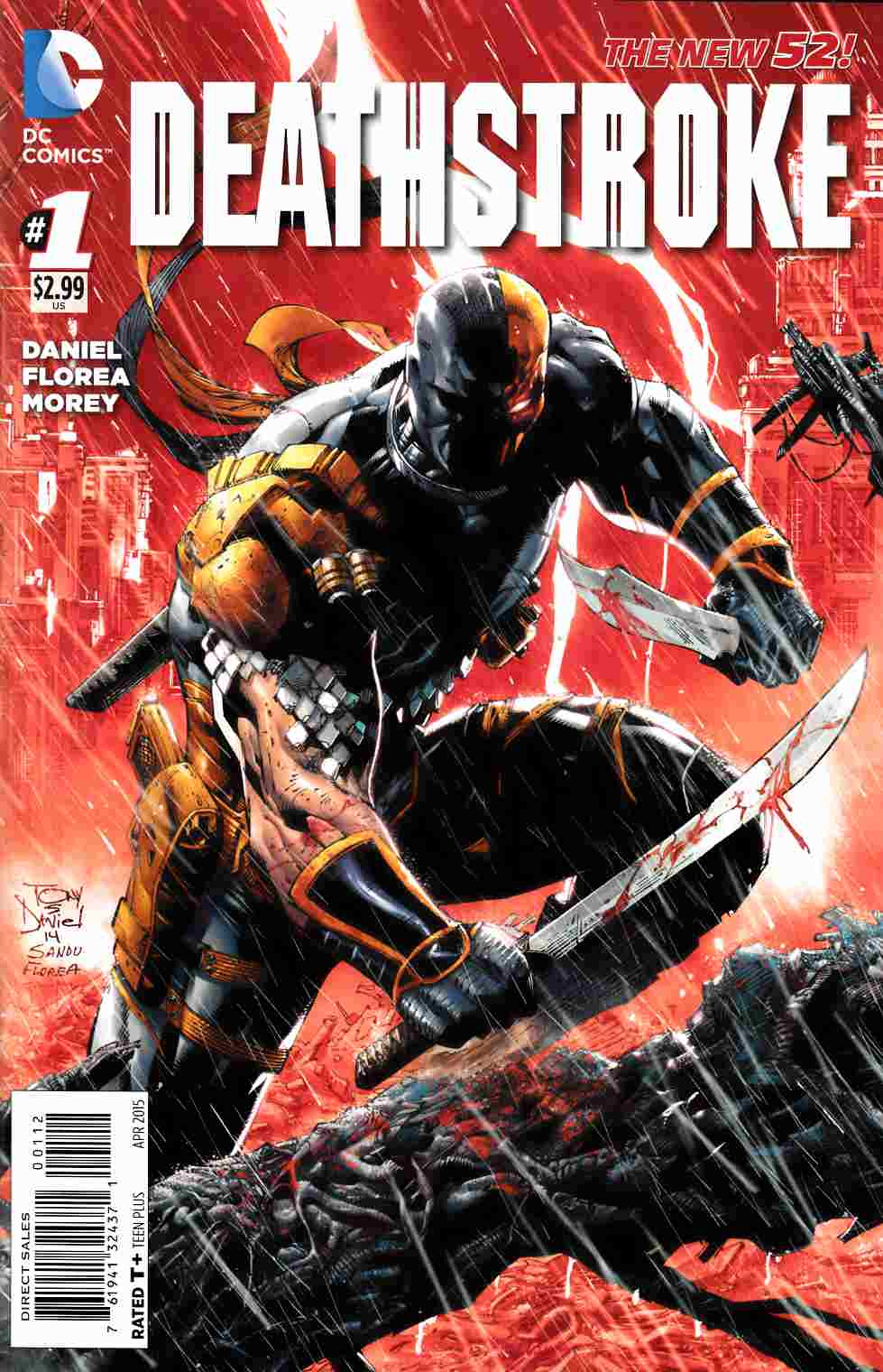 Deathstroke #1 Second Printing [DC Comic]_THUMBNAIL