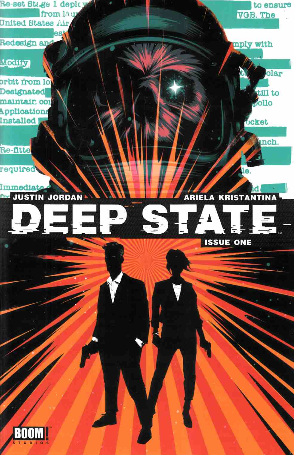 Deep State #1 [Boom Comic] LARGE