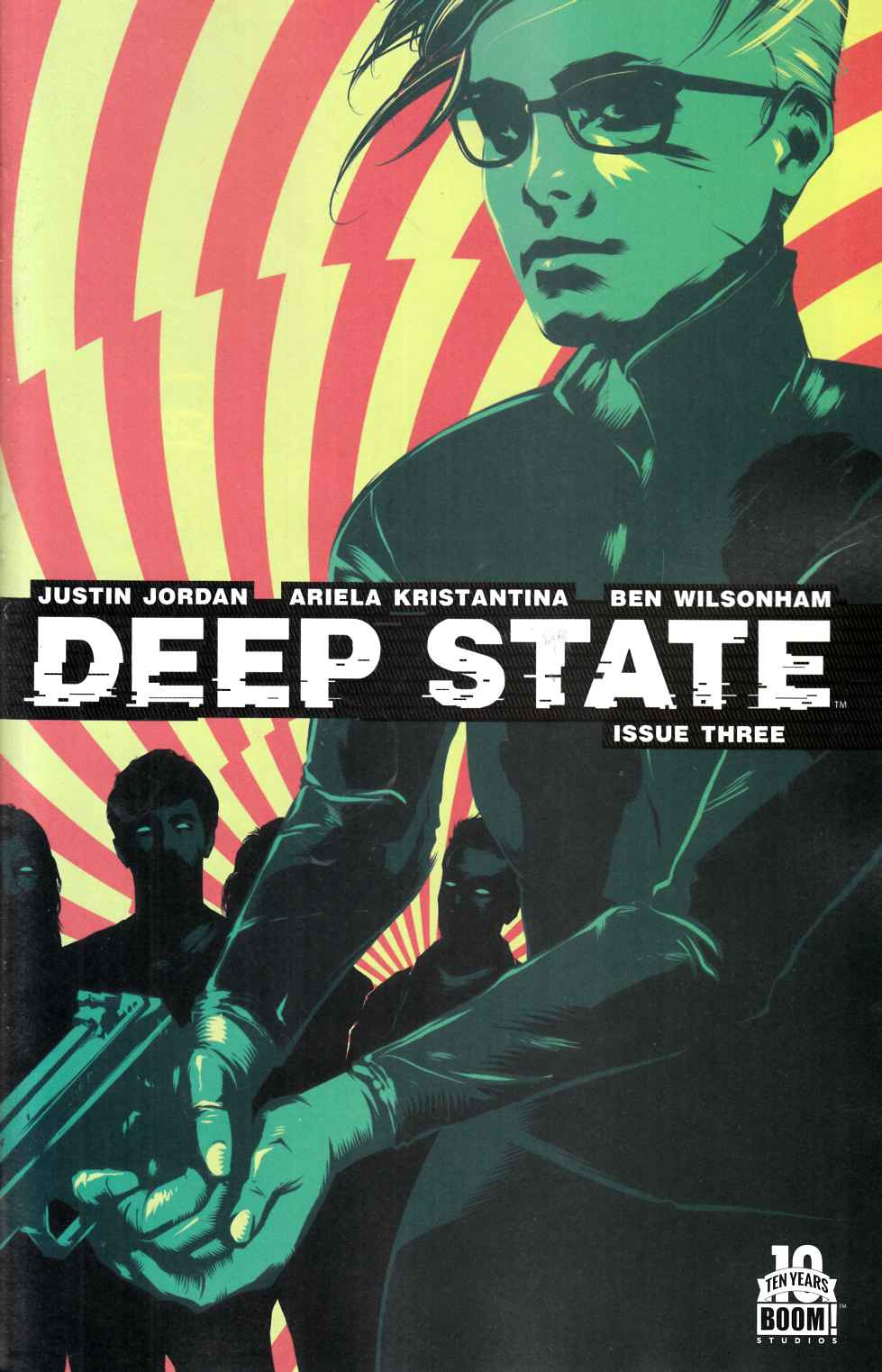Deep State #3 [Boom Comic] LARGE