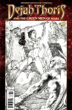 Dejah Thoris & Green Men of Mars #10 Subscription Cover [Dynamite Comic] LARGE