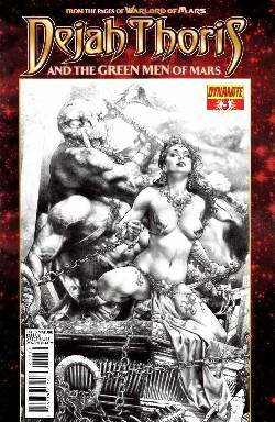 Dejah Thoris & Green Men of Mars #3 Anacleto Subscription Cover [Comic] LARGE