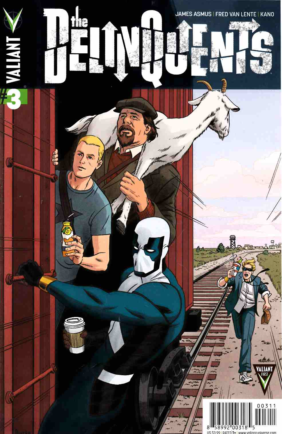 Delinquents #3 [Valiant Comic] THUMBNAIL