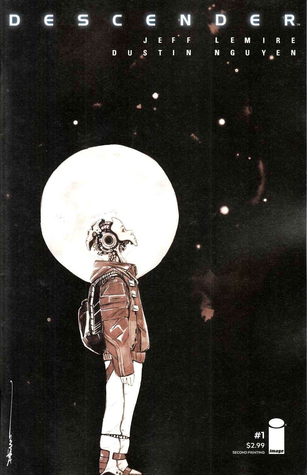 Descender #1 Second Printing [Image Comic] THUMBNAIL