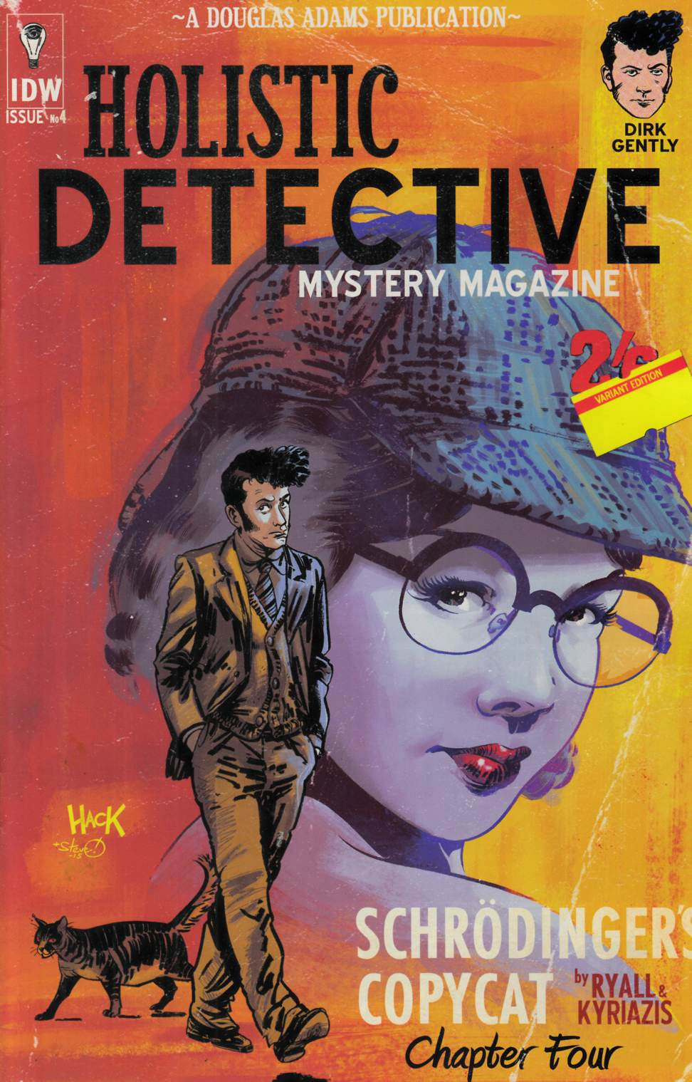 Dirk Gentlys Holistic Detective Agency #4 Cover RI [IDW Comic]
