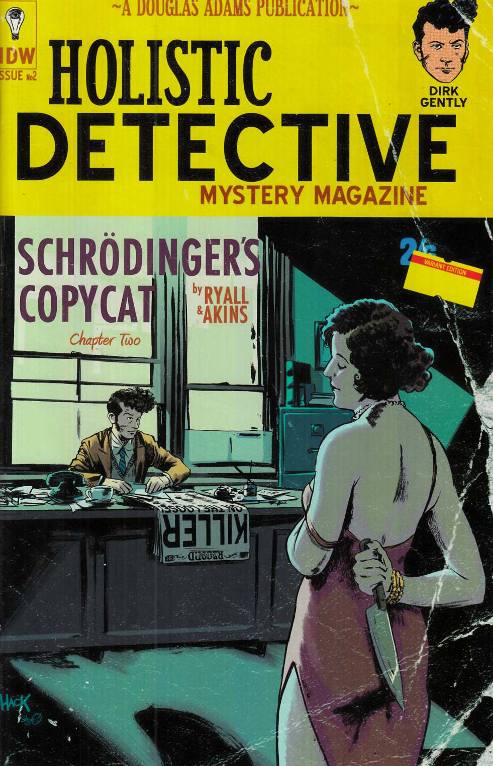 Dirk Gentlys Holistic Detective Agency #2 Cover RI [IDW Comic]