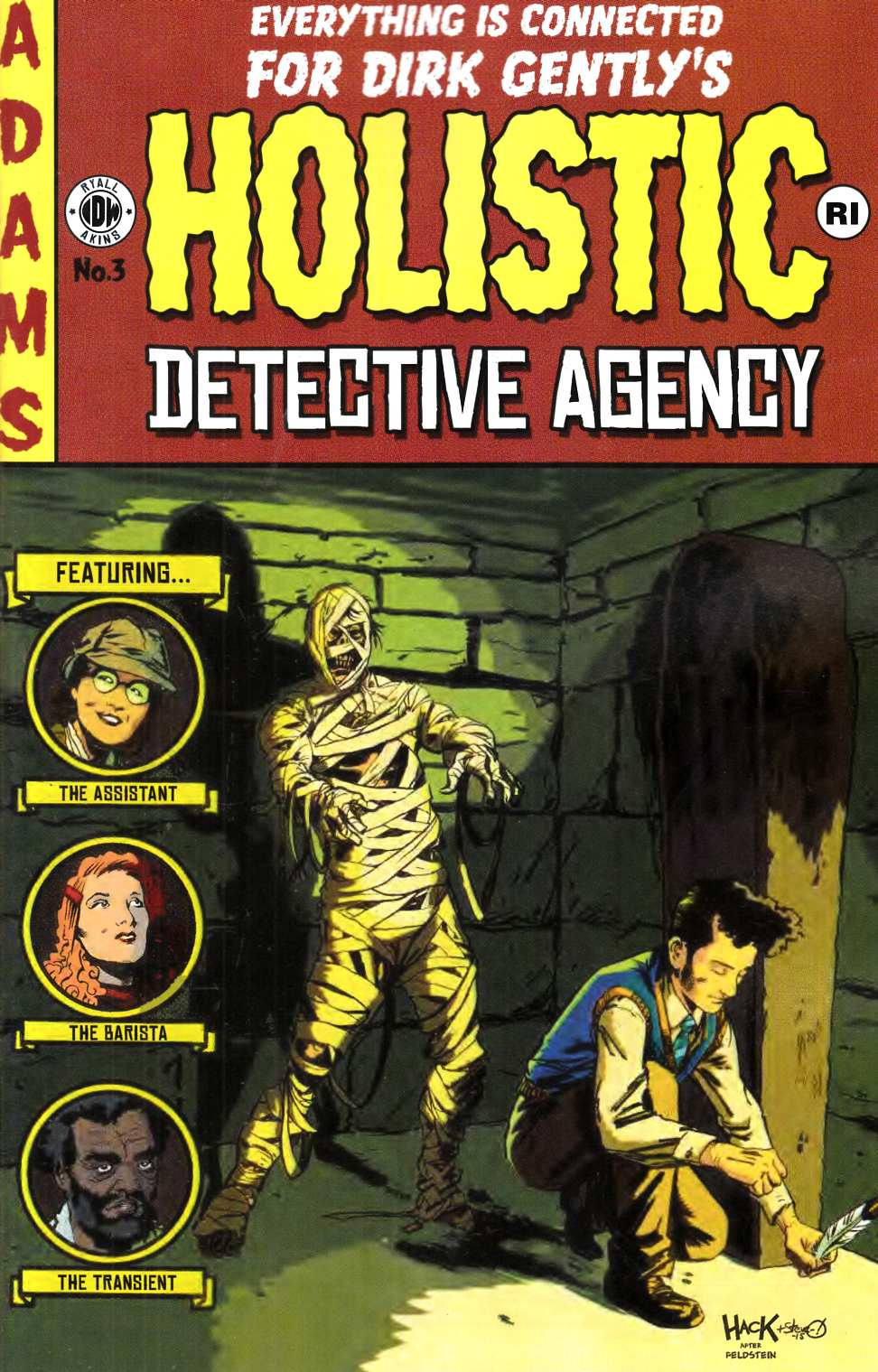 Dirk Gentlys Holistic Detective Agency #3 Cover RI [IDW Comic] LARGE