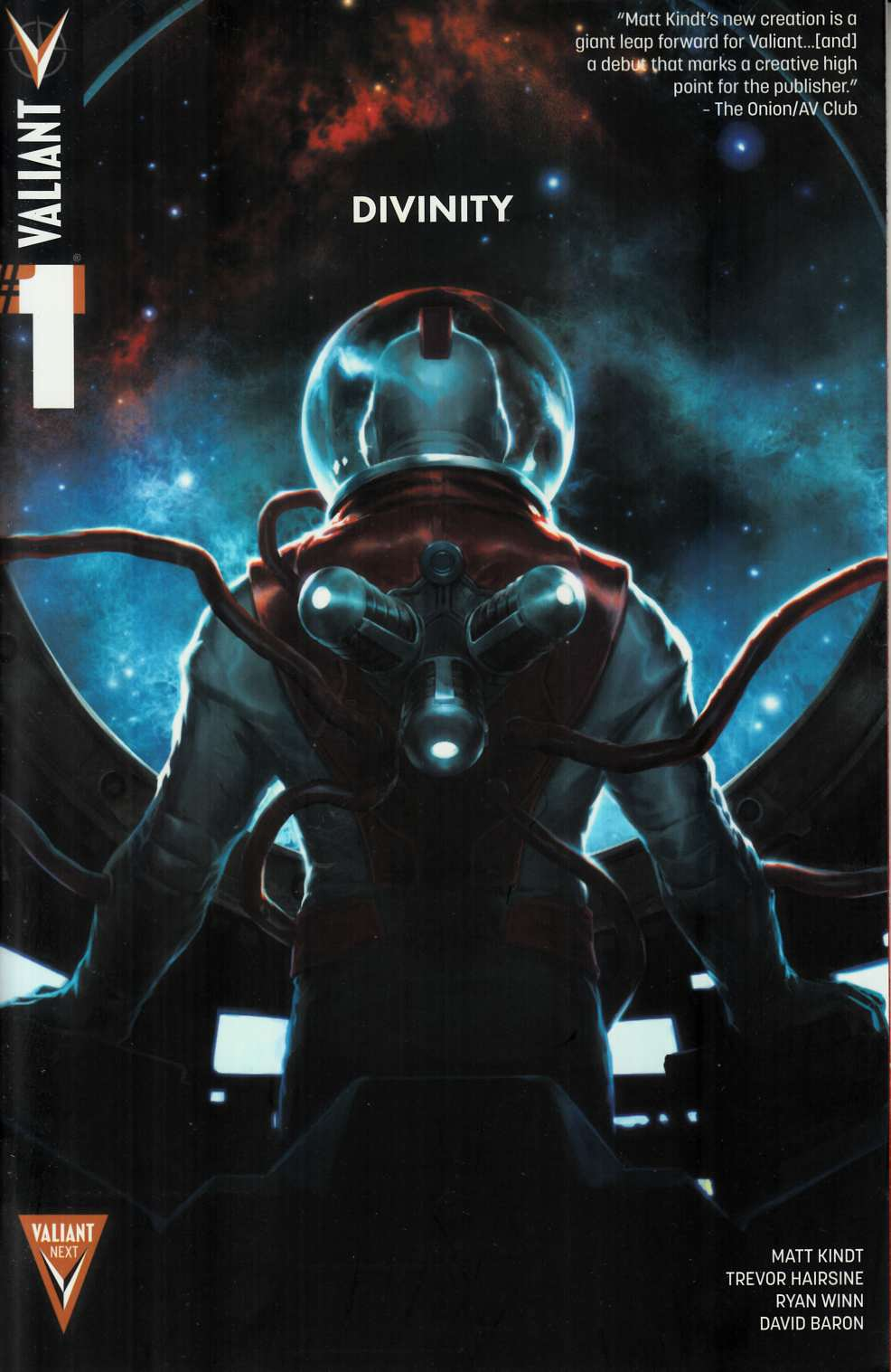 Divinity #1 Second Printing [Valiant Comic] THUMBNAIL