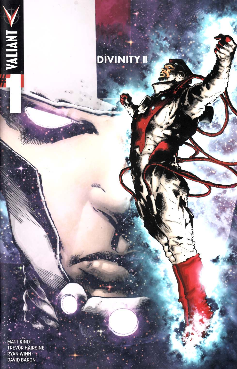 Divinity 2 #1 Cover D- Hairsine Incentive [Valiant Comic] THUMBNAIL