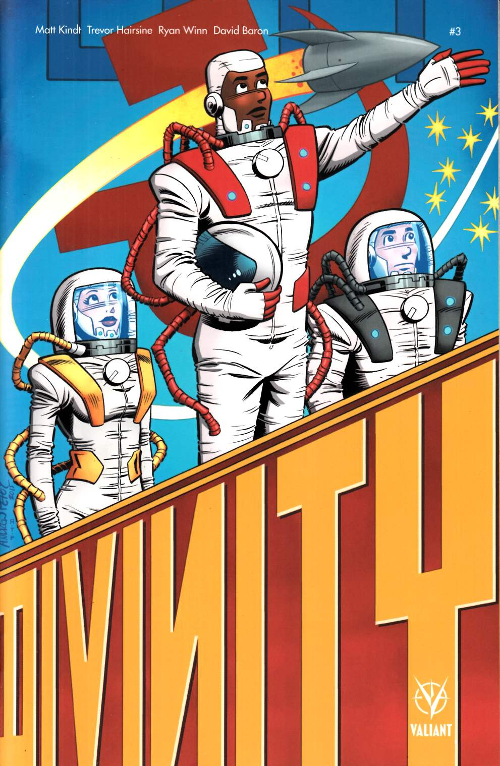 Divinity 2 #3 Cover C- Pepoy Incentive [Valiant Comic] THUMBNAIL