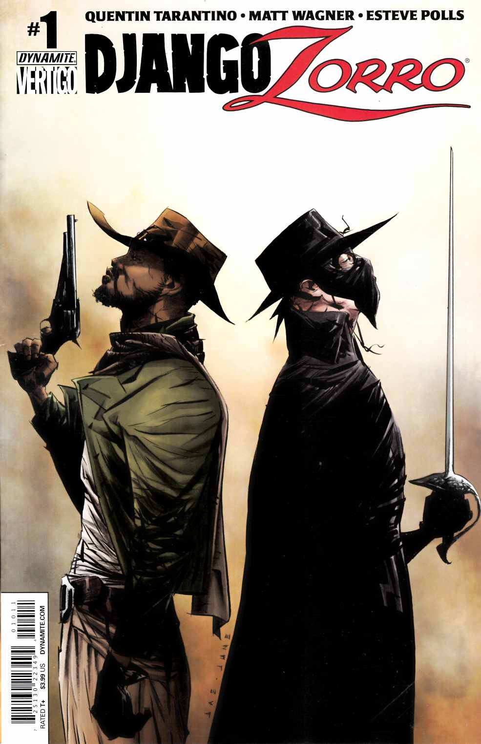 Django Zorro #1 Cover A- Lee [Dynamite Comic] THUMBNAIL