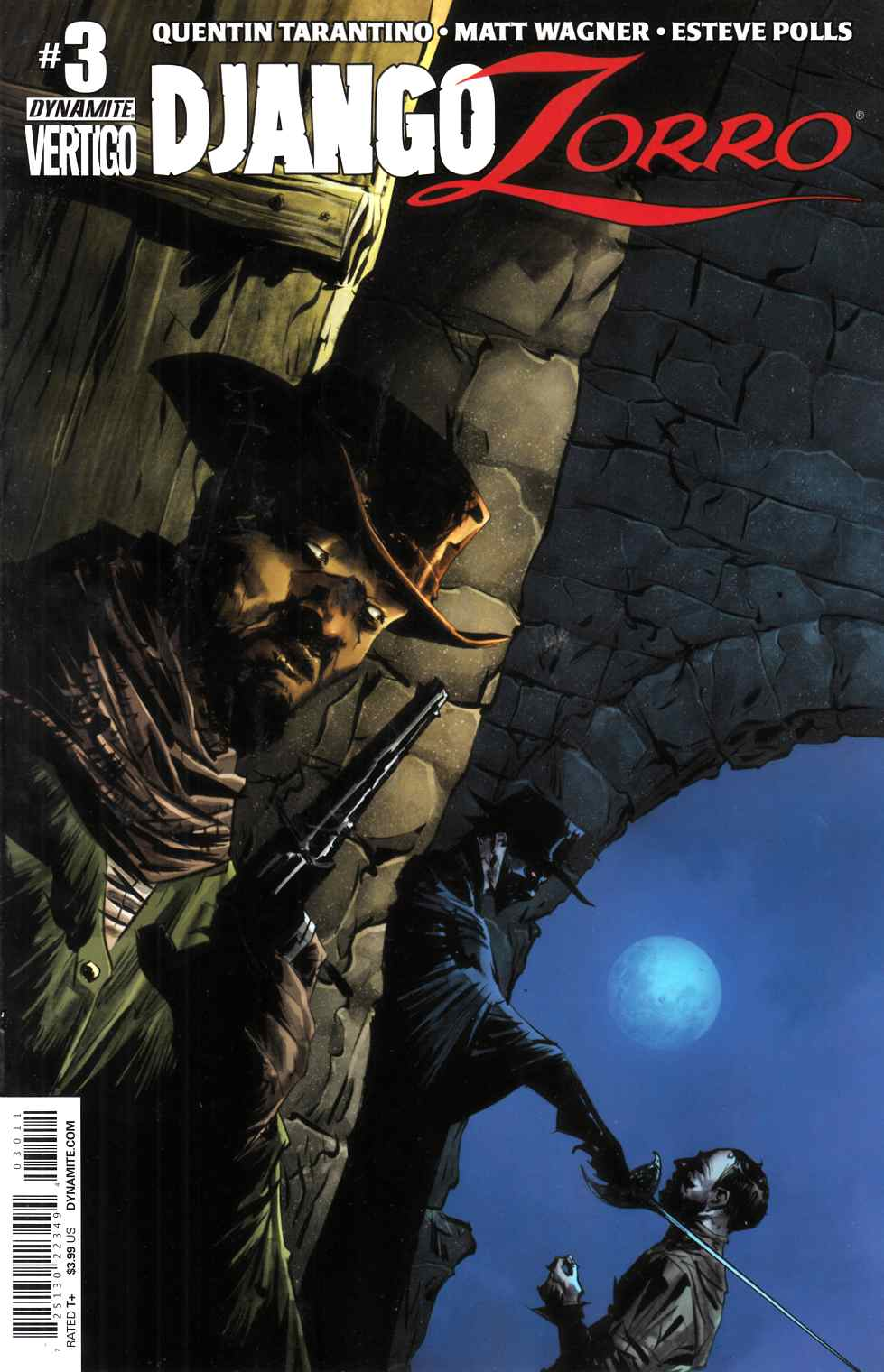 Django Zorro #3 Cover A- Lee [Dynamite Comic] THUMBNAIL