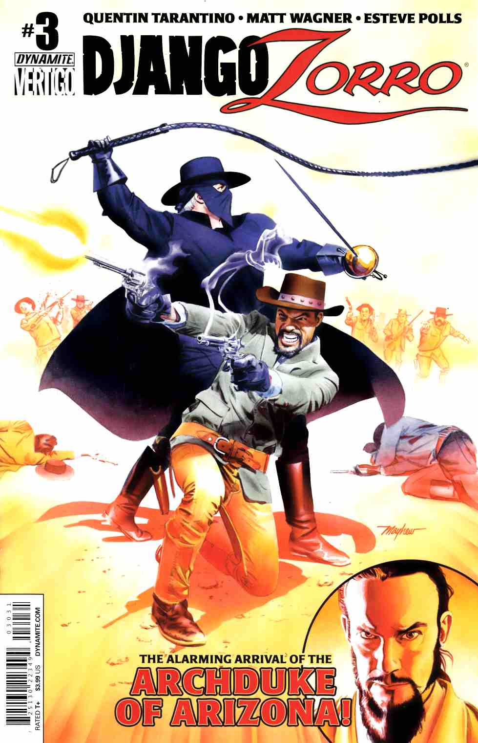 Django Zorro #3 Cover C- Mayhew Subscription [Dynamite Comic] THUMBNAIL