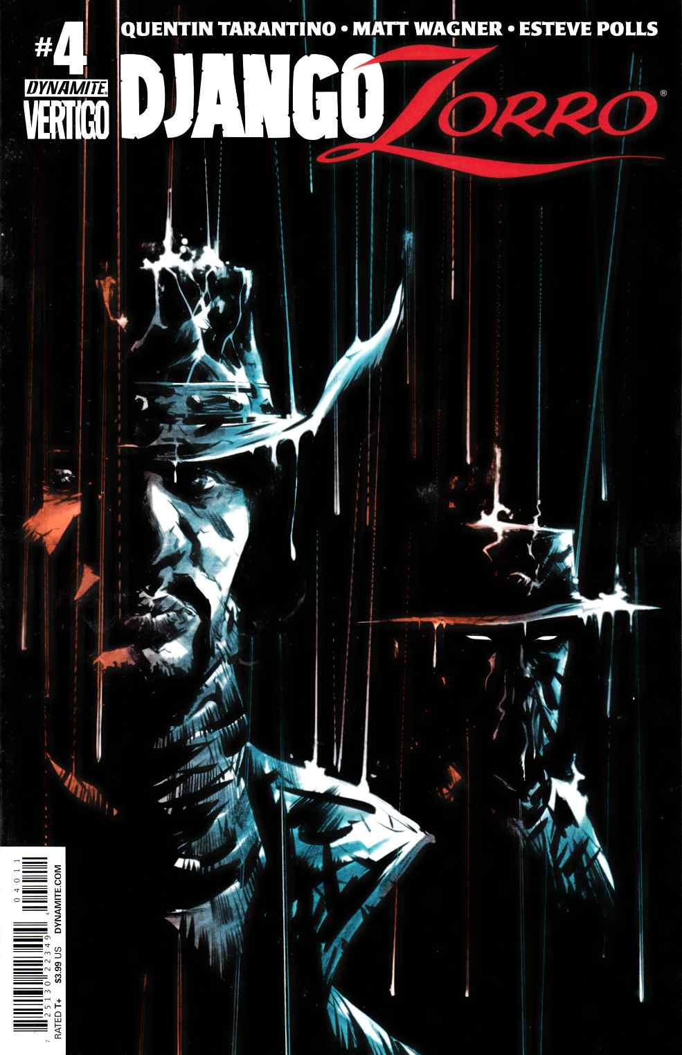 Django Zorro #4 Cover A- Lee [Dynamite Comic] THUMBNAIL