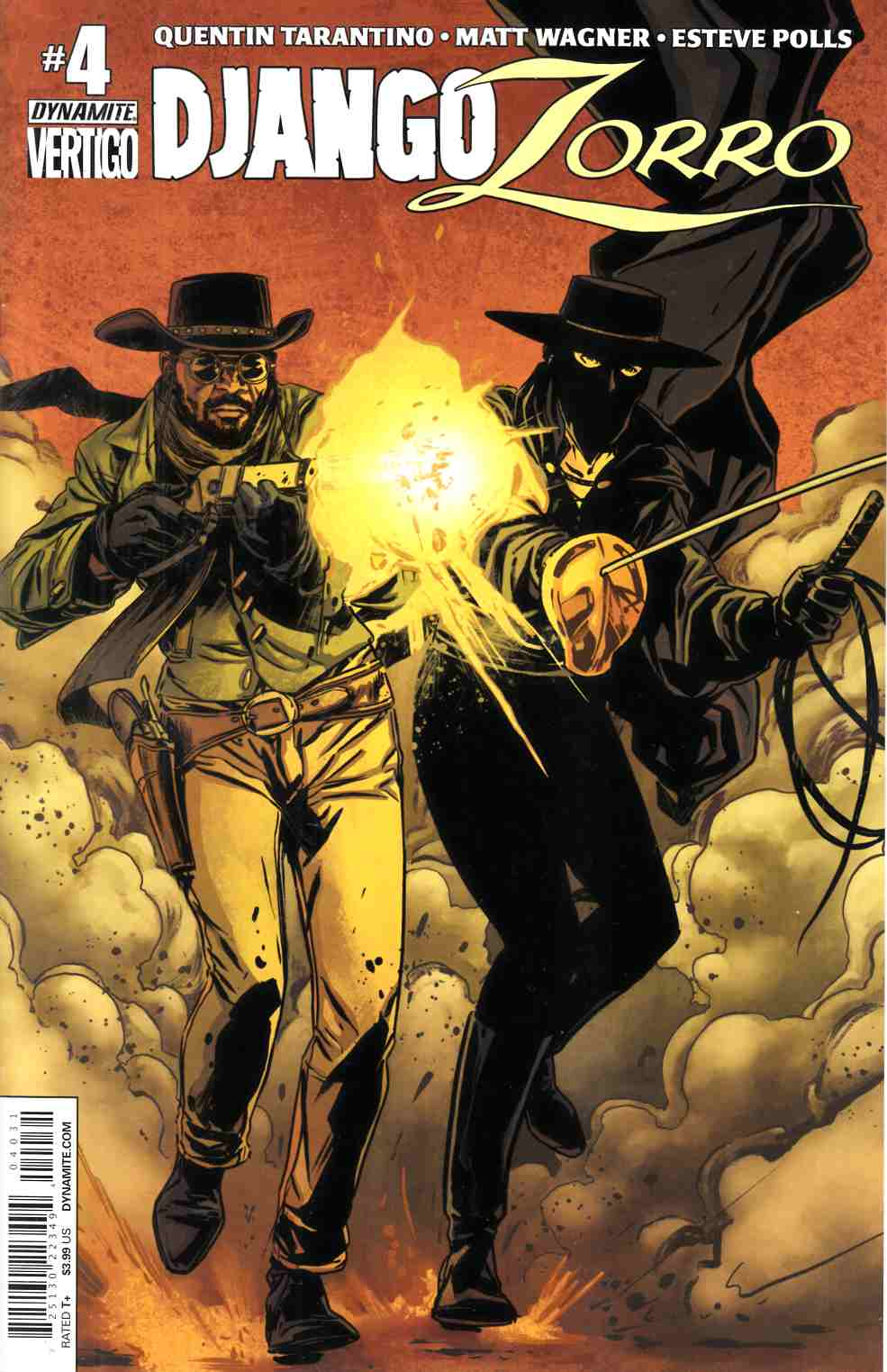 Django Zorro #4 Cover C- Laming Subscription [Dynamite Comic] THUMBNAIL