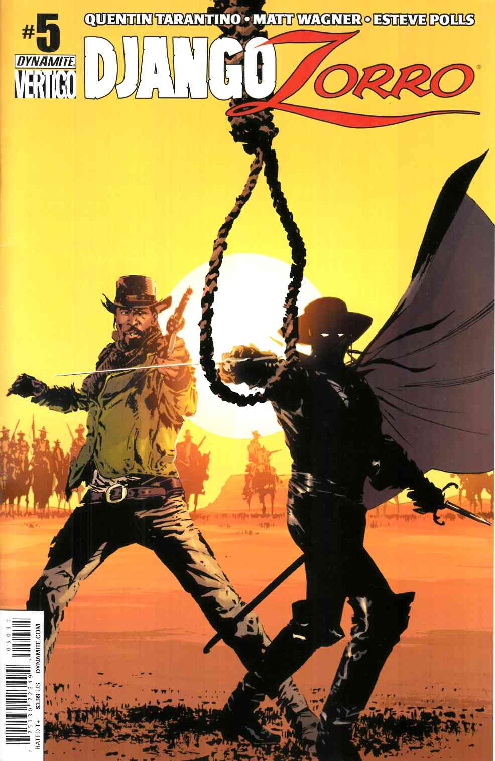 Django Zorro #5 Cover C- Guice Subscription [Dynamite Comic] LARGE