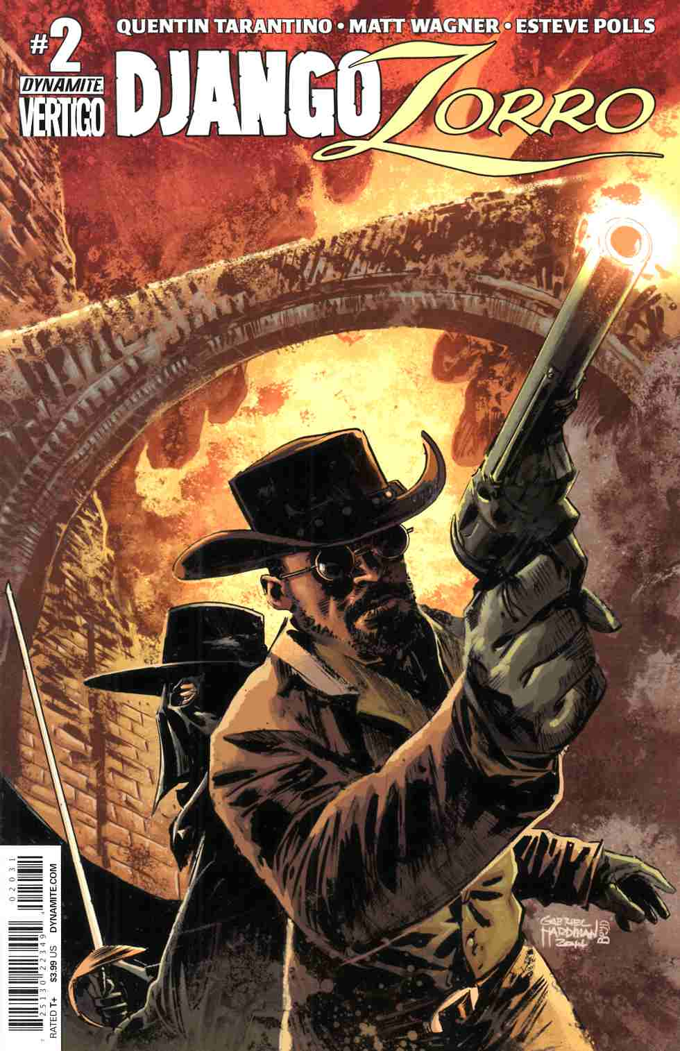 Django Zorro #2 Cover C- Hardman Subscription [Dynamite Comic] THUMBNAIL