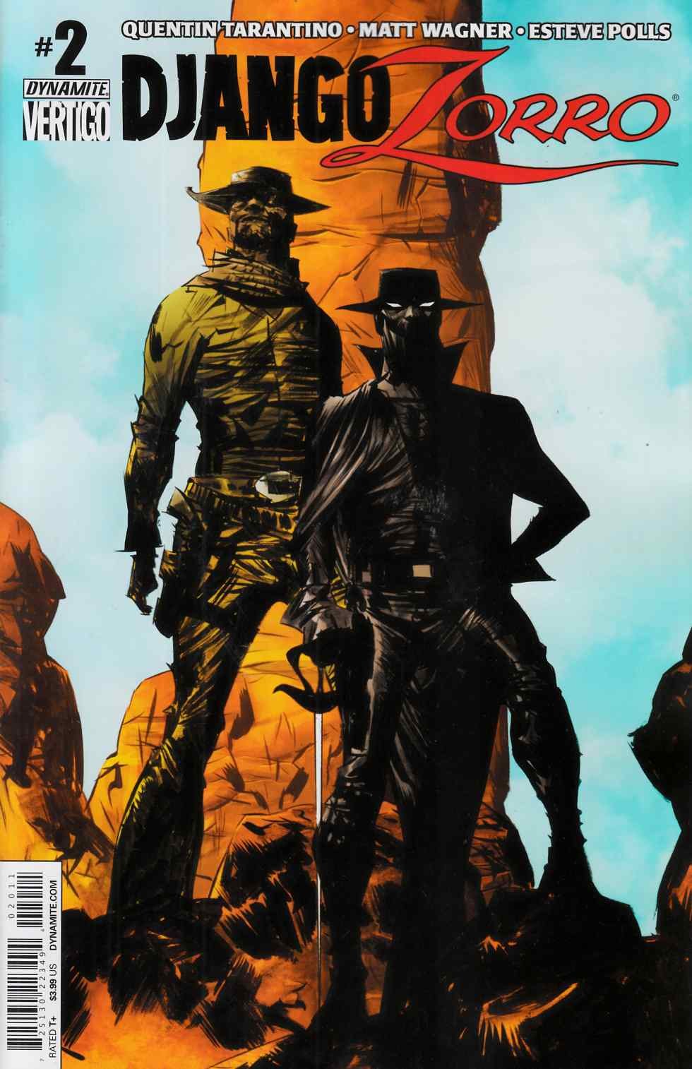 Django Zorro #2 Cover A- Lee [Dynamite Comic] THUMBNAIL