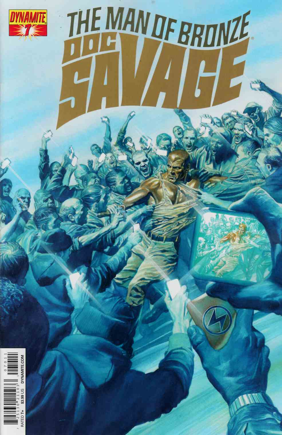 Doc Savage #7 Ross Cover [Dynamite Comic] THUMBNAIL