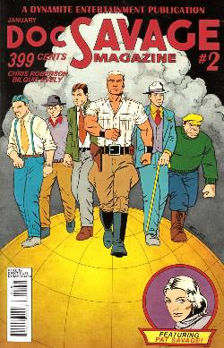 Doc Savage #2 Cassaday VIP Cover [Dynamite Comic] LARGE