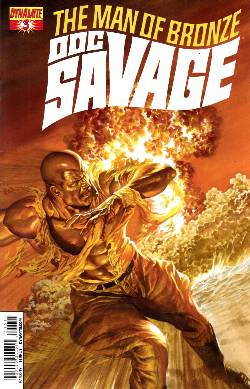 Doc Savage #3 Cassaday VIP Cover [Dynamite Comic] LARGE
